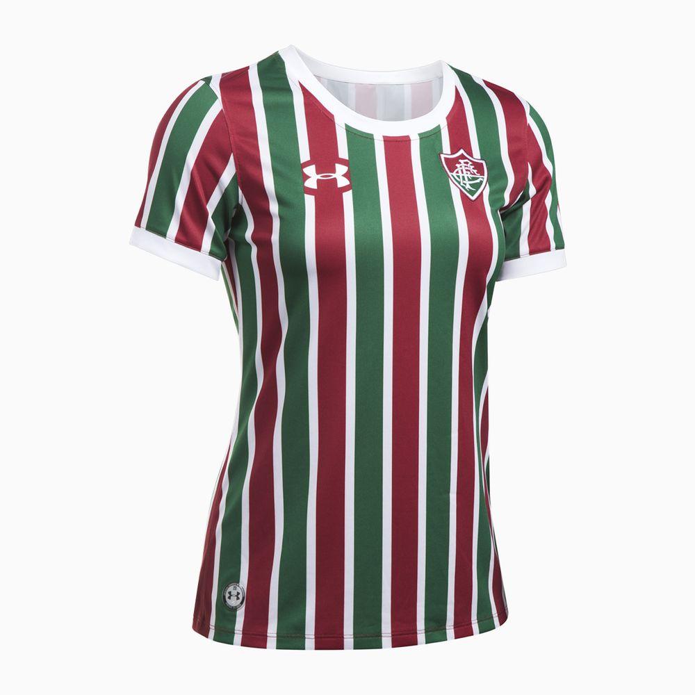 6807ae6897 Camisa Fluminense I 17 18 s nº Torcedor Under Armour Feminina ...