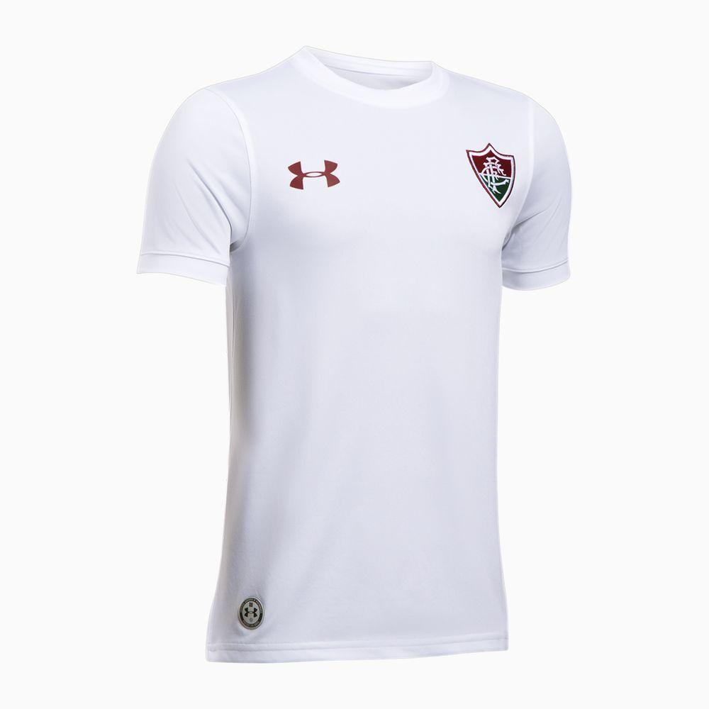 Camisa Fluminense II 17 18 s nº Torcedor Under Armour Infantil ... 9179c86ee7c2f