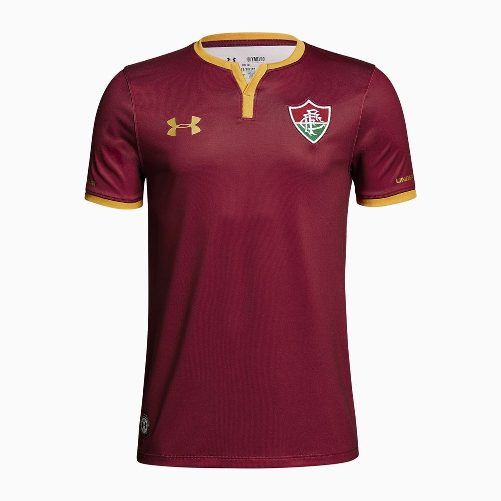 fee39b9725 Camisa Fluminense III 17 18 s nº Torcedor Under Armour Infantil