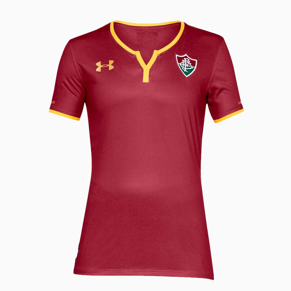 4a5685879b Camisa Fluminense III 17 18 s nº Torcedor Under Armour Feminina - fluminense