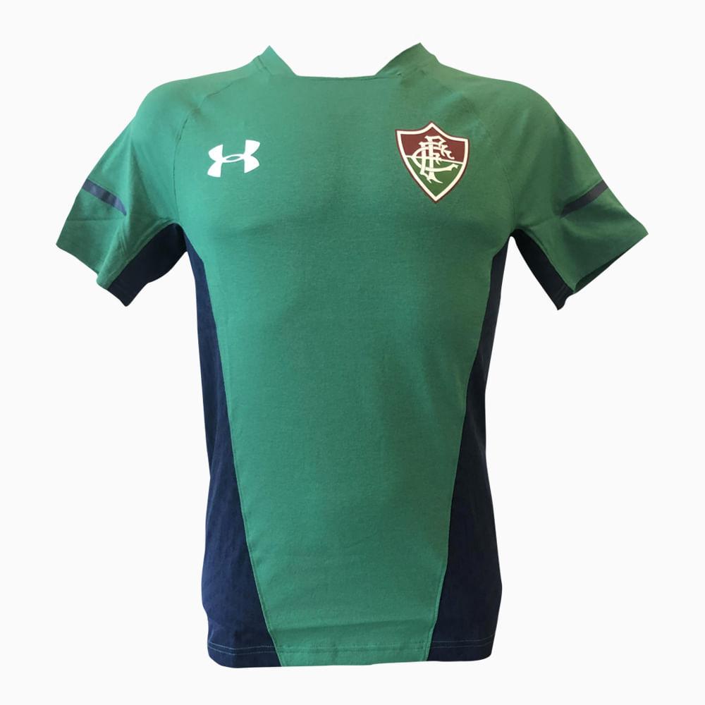 c82e25232b78e Camisa Fluminense Treino Verde 19 s nº Under Armour