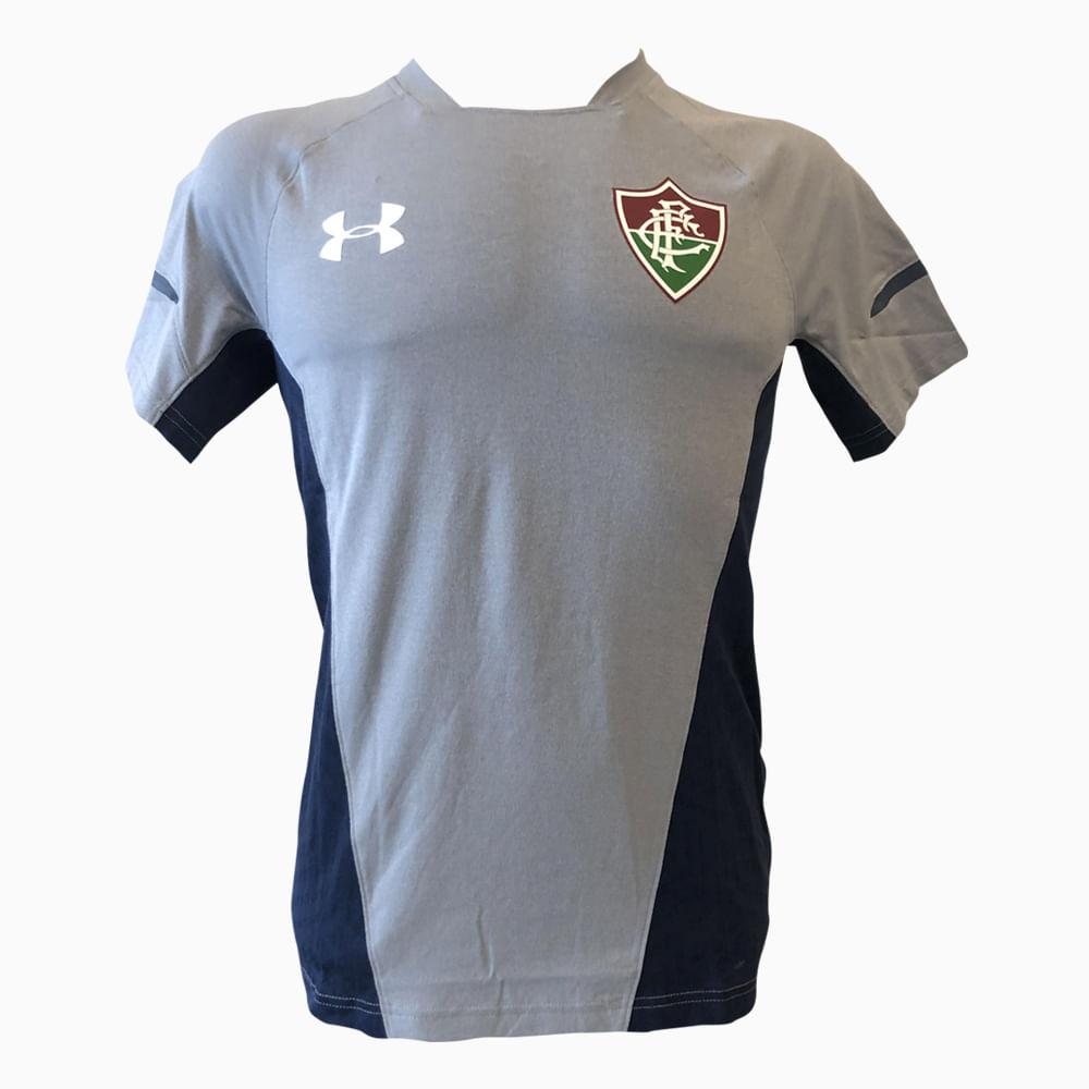 70673be3f3e42 Camisa Fluminense Treino Cinza 19 s nº Under Armour