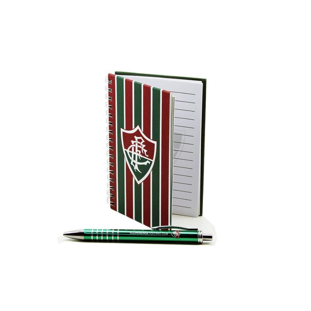 Caneta-Roller-Pen-de-Metal-Fluminense---Caderno-Fluminense
